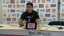 Avant-match Toulon/Toulouse : Anthony Belleau