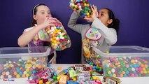 Bad Baby Bottle Bubble Gum Gumballs VS Extreme Sour Warheads Candy Shopkins Surprise Toys