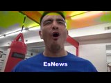 brandon rios working and dancing EsNews Boxing
