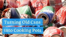 Turning coke cans into pots and pans | DW English