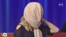 Défigurée à l'acide par son ex, une ancienne Miss, montre son nouveau visage
