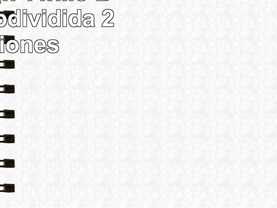 4 Secciones InterDesign Twillo Bandeja subdividida