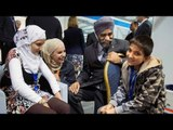 Canada flight carrying Syrian refugees arrives in Toronto
