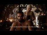 Khal Drogo et Daenerys Targaryen parlent Dothraki - Game of Thrones