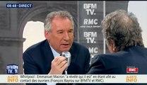 François Bayrou, invité de Bourdin Direct sur BFMTV - 270417