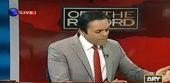 Kashif Abbasi tells the reason why Imran Khan cannot name that person who gave him offer. Watch video
