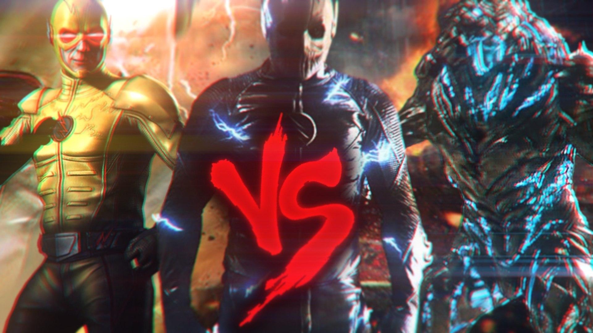 Savitar Vs Zoom Vs Flash Reverso Fronteira Do Combate Ft Darkorion E Tenkai Video Dailymotion