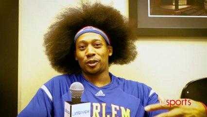 Moose Weekes On Harlem Globetrotters, Basketball
