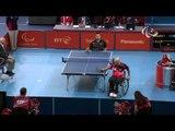Table Tennis - GER vs ESP - Men's Singles Qualif. - Class 3 Group E -London 2012 Paralympic Games