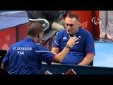 Table Tennis - GER vs FRA - Men's Singles - Class 3 Group B - Qual. -London 2012 Paralympic Games