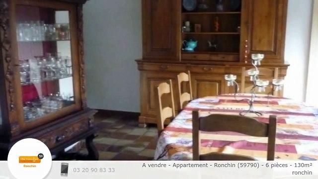 A vendre - Appartement - Ronchin (59790) - 6 pièces - 130m²