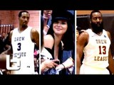 James Harden & Brandon Jennings Show OUT In-front of Kendall Jenner at Drew League!!