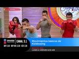 Movimientos básicos de Kickboxing