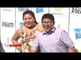 Raini and Rico Rodriguez at Variety's 7th Annual Power of Youth Green Carpet Arrivals