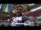 WOW Oleksandr Usyk Started Boxing At 15 Then Won Olympic Gold & World Title EsNews Boxing