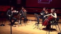 Bela Bartok : Quatuor à cordes n° 4 en ut majeur Sz 91 par le Quatuor Tana