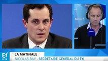 """Nicolas Dupont-Aignan dans un éventuel gouvernement de Marine Le Pen ? """"Probable"""", pour Nicolas Bay"""