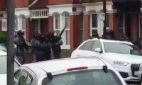 Gunfire heard during Willesden police raid – video