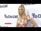 "Molly McQueen ""THE TO DO LIST"" Los Angeles Premiere Purple Carpet Arrivals"