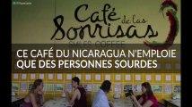 """Ce """"Café des sourires"""" n'emploie que des personnes sourdes"""