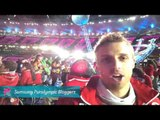 Brandon Wagner - Live from the field of the Opening Ceremonies,Paralympics 2012