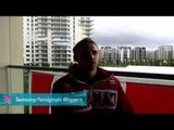 Brandon Wagner - Pre Opening Ceremonies in the Athletes Village,Paralympics 2012