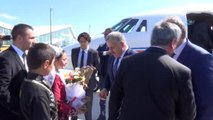 """Bakan Arslan: """"Bakü-Tiflis-Kars Demiryolu Hattı Haziran'da Hizmete Girecek"""""""