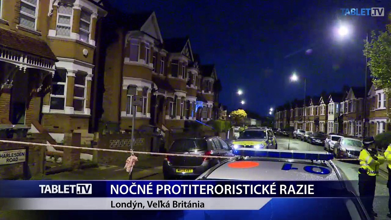 Protiteroristické komando postrelilo ženu pri razii v Londýne