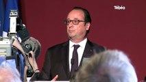 Belle-Ile-en-Mer (56). François Hollande rend hommage à la Bretagne et à J.Y.Le Drian