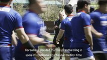 Behind the scenes with Korea at the Asia Rugby Championship