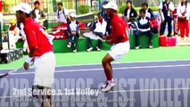 2nd Serve & 1st Volley The Art of Soft tennis 2ndサーブからの1stボレー ソフトテニスの技法 高川経生