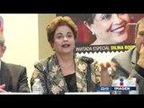 Ex presidenta de Brasil, acusada de corrupción, viene a México | Imagen Noticias