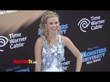 "Caroline Sunshine ""Monsters University"" World Premiere Blue Carpet Arrivals"
