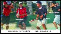 鹿島鉄平・中本圭哉vs.林田和樹・巽慎也-3【ソフトテニス soft-tennis】