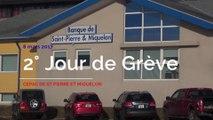 2ème jour de grève à la CEPAC de Saint-Pierre et Miquelon