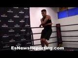 WOW Olympian Carlos Balderas killing jump rope like Floyd Mayweather!! - EsNews Boxing