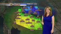 Windy, cold weather moving into Valley ahead of weekend