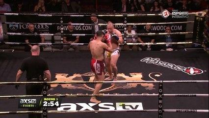 Lyon Fight 36 - É NOCAUTE! Chip Moraza-Pollard vence Matt Coleman