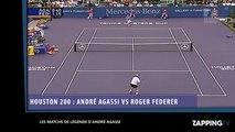 André Agassi a 47 ans : Retour sur son incroyable carrière (vidéo)