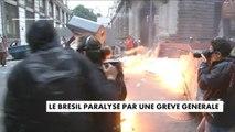 Le Brésil paralysé par une grève générale - Brésil