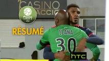 Gazélec FC Ajaccio - Valenciennes FC (1-0)  - Résumé - (GFCA-VAFC) / 2016-17