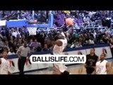 Michael Jordan's Son Marcus Jordan Sick Dunks @ Jordan Brand Classic
