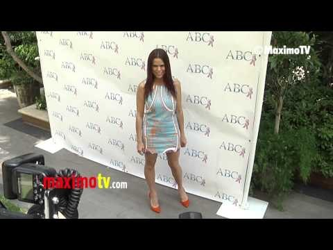 Rosa Blasi ABCs Mother's Day Luncheon 2013 Red Carpet ARRIVALS @rosablasi