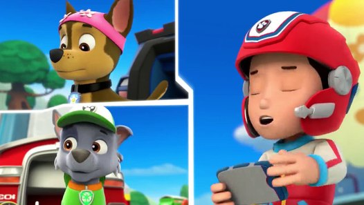 paw patrol   s 1 e 14   pups save a pool day   circus pup
