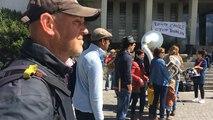 Rassemblement en soutien aux migrants
