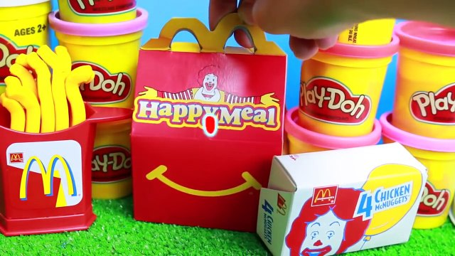 PLAY-DOH McDonald's Ice Cream MAKER McFlurry + McDonalds Drive Thru Play Kitchen HAPPY MEAL SURPRISE