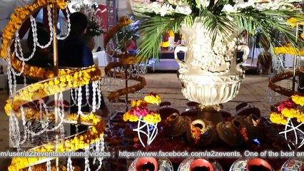 Mehndi with Auto Riksha Signature entry for Bride & Groom Behria Lahore by a2z events solutions