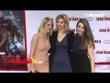 "Madeline Zima, Yvonne Zima,  ""Iron Man 3"" World Premiere Red Carpet ARRIVALS April 24, 2013"
