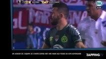 Un joueur de l'équipe de Chapecoense met une main aux fesses de son adversaire (vidéo)