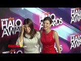 Victoria Justice and Daniella Monet TeenNick HALO Awards 2012 Arrivals